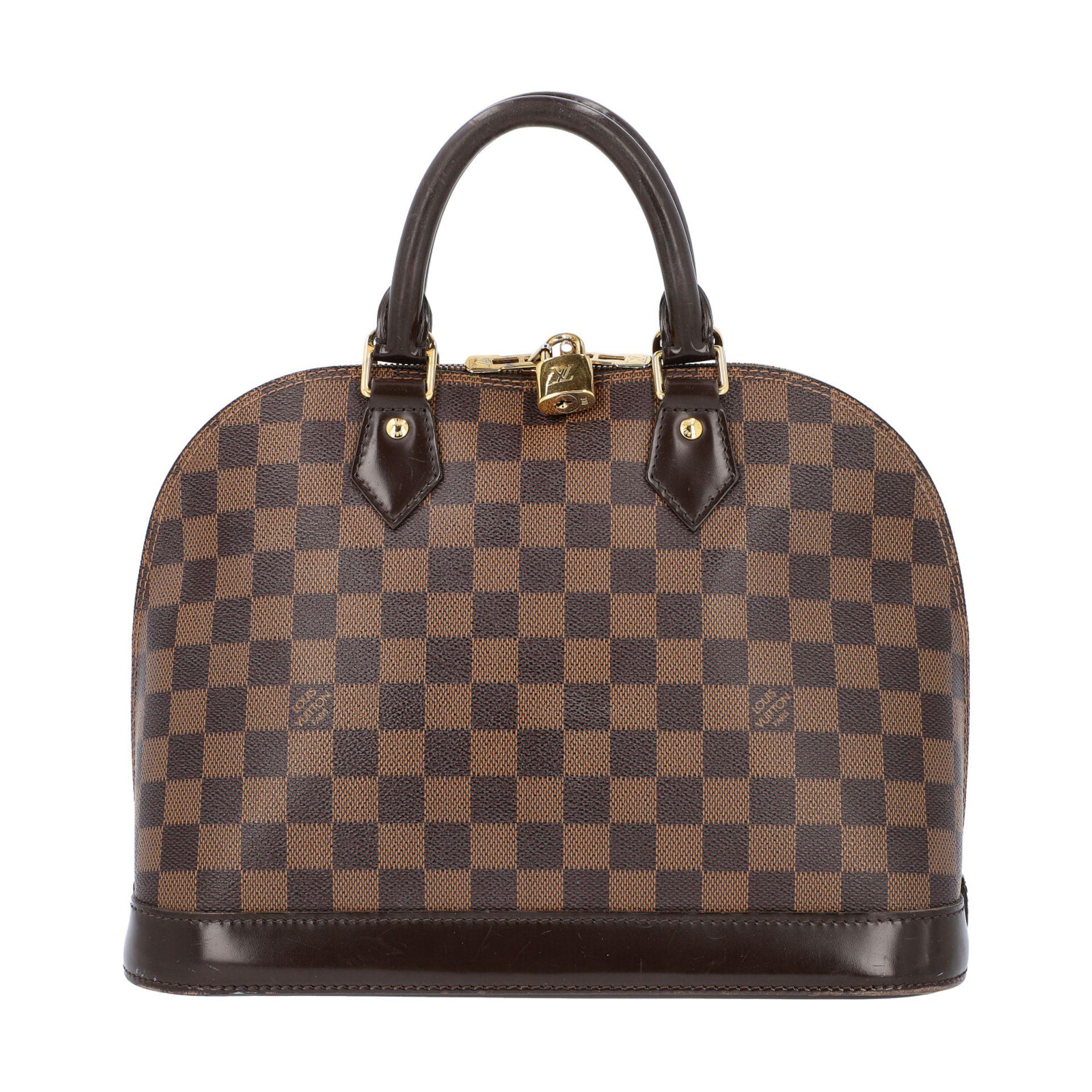 "LOUIS VUITTON Handtasche ""ALMA PM"", Koll. 2010.Akt. NP.: 1.250,-€. Damier Ebene Serie mit"