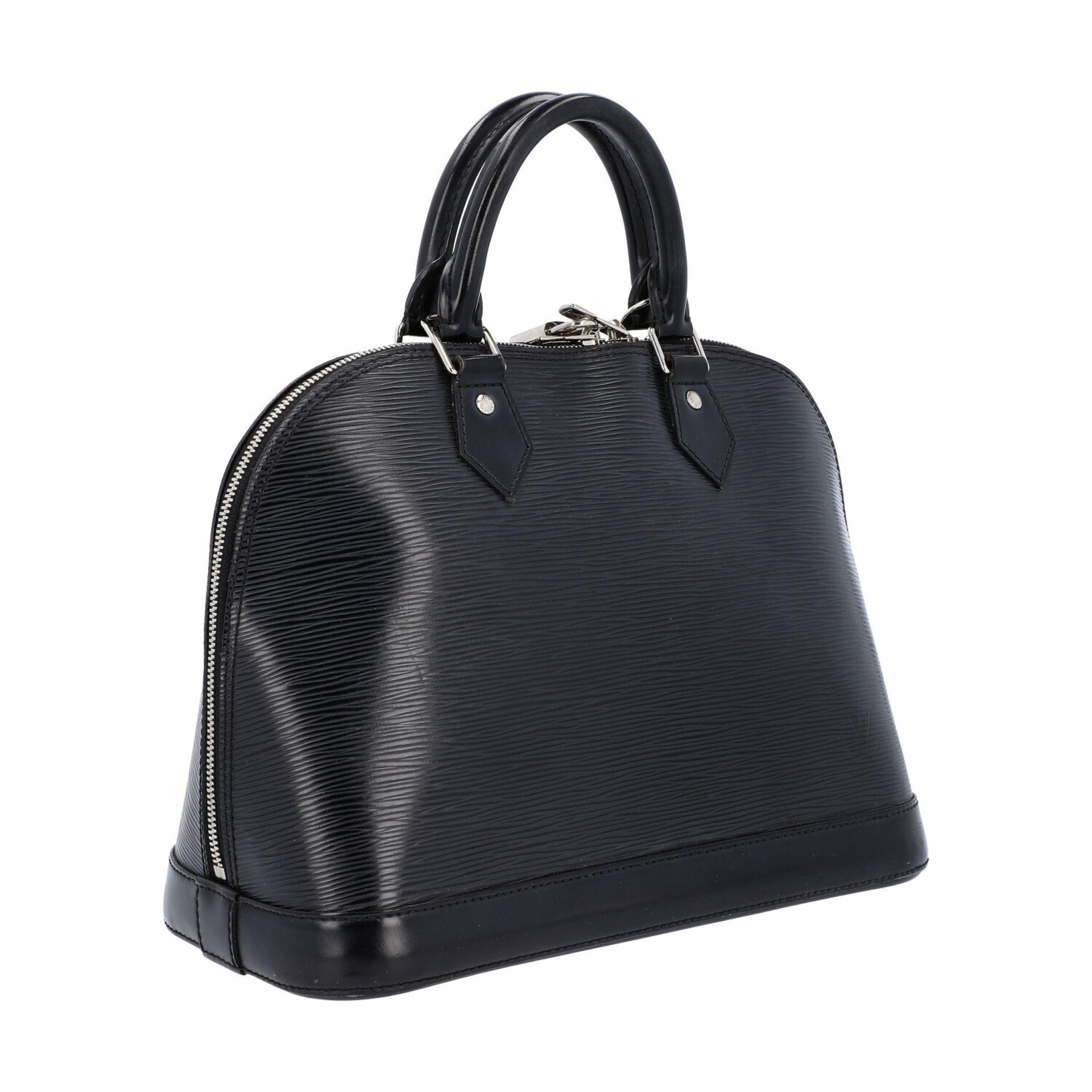 """LOUIS VUITTON Handtasche """"ALMA PM"""", Koll. 2011.Akt. NP.: 1.680,-€. Epi Leder Serie in Schwarz mit - Bild 2 aus 8"""