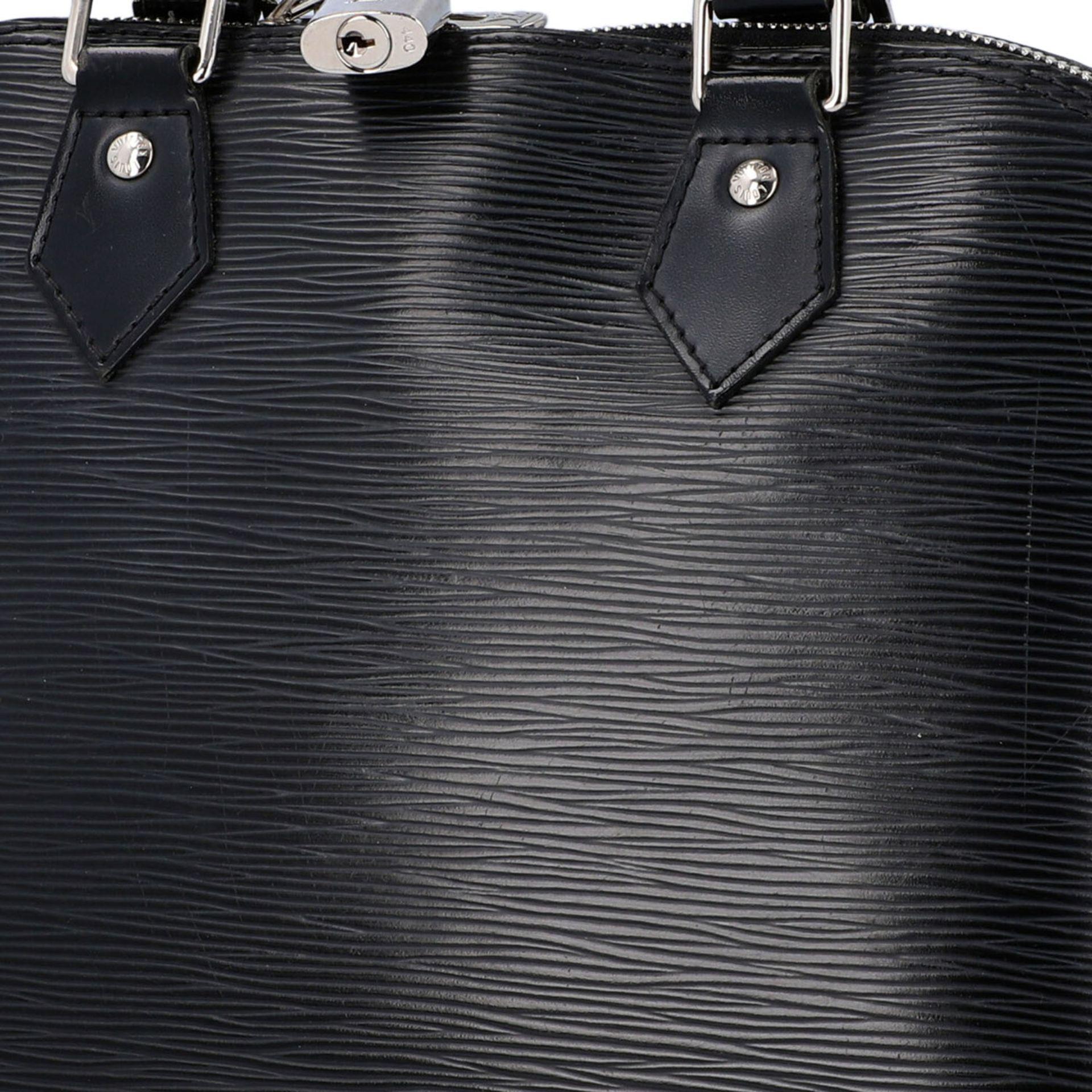 """LOUIS VUITTON Handtasche """"ALMA PM"""", Koll. 2011.Akt. NP.: 1.680,-€. Epi Leder Serie in Schwarz mit - Bild 7 aus 8"""
