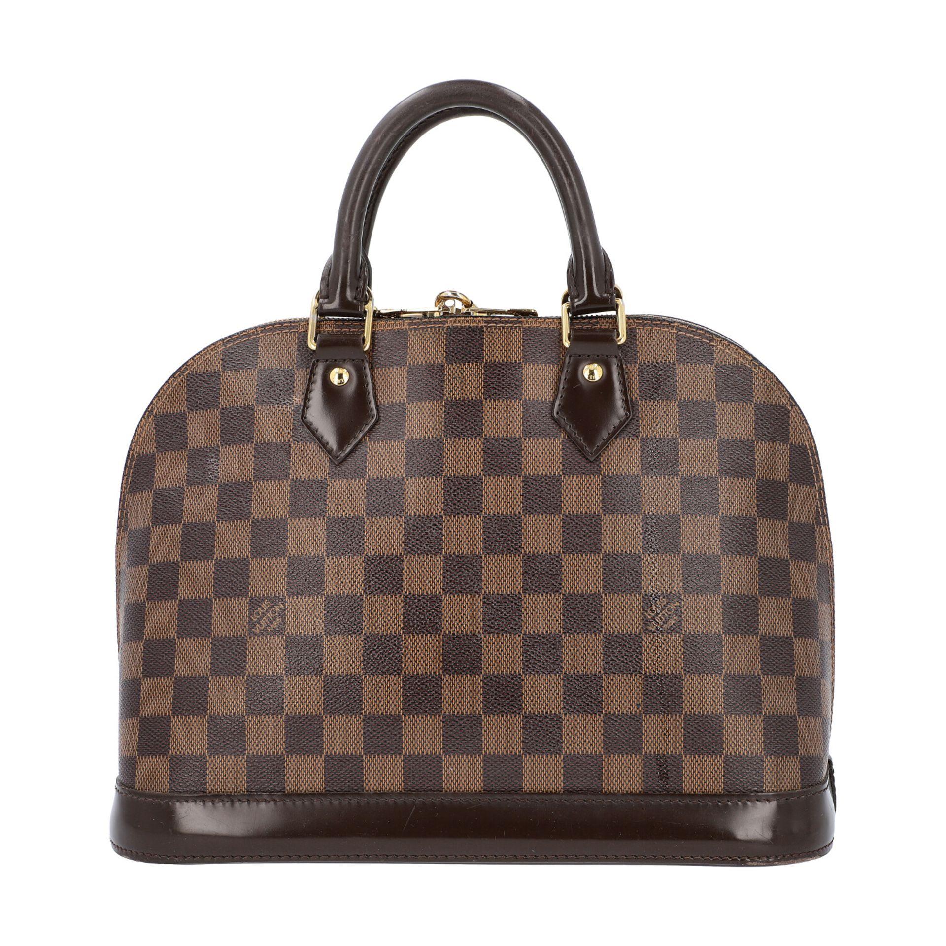 """LOUIS VUITTON Handtasche """"ALMA PM"""", Koll. 2010.Akt. NP.: 1.250,-€. Damier Ebene Serie mit - Bild 4 aus 8"""