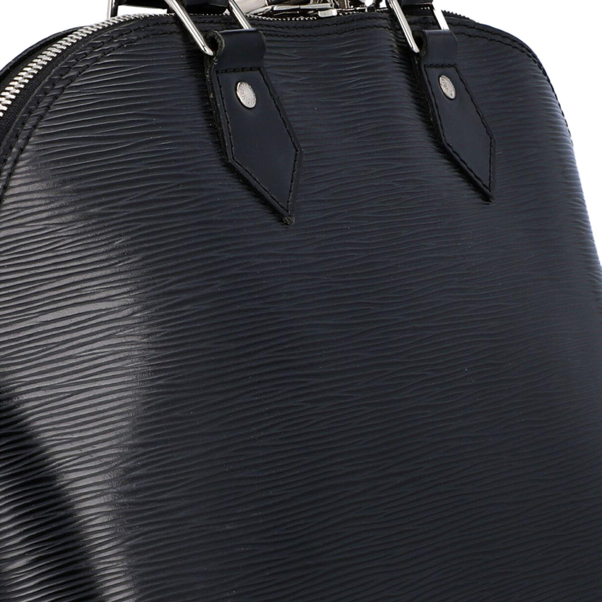 """LOUIS VUITTON Handtasche """"ALMA PM"""", Koll. 2011.Akt. NP.: 1.680,-€. Epi Leder Serie in Schwarz mit - Bild 8 aus 8"""