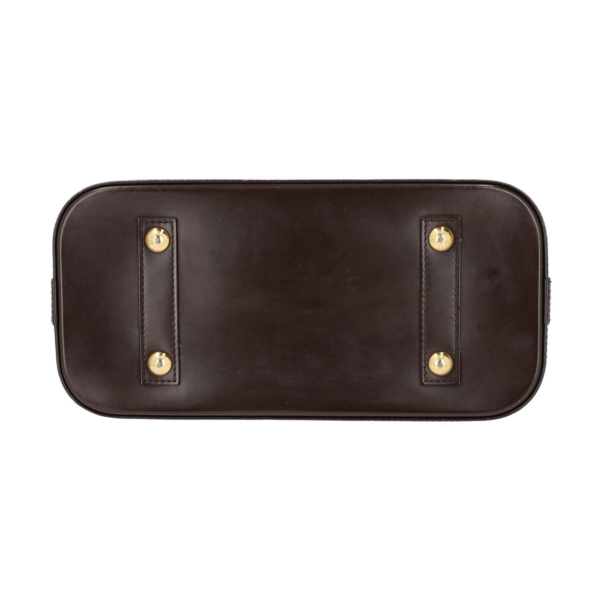 """LOUIS VUITTON Handtasche """"ALMA PM"""", Koll. 2010.Akt. NP.: 1.250,-€. Damier Ebene Serie mit - Bild 5 aus 8"""