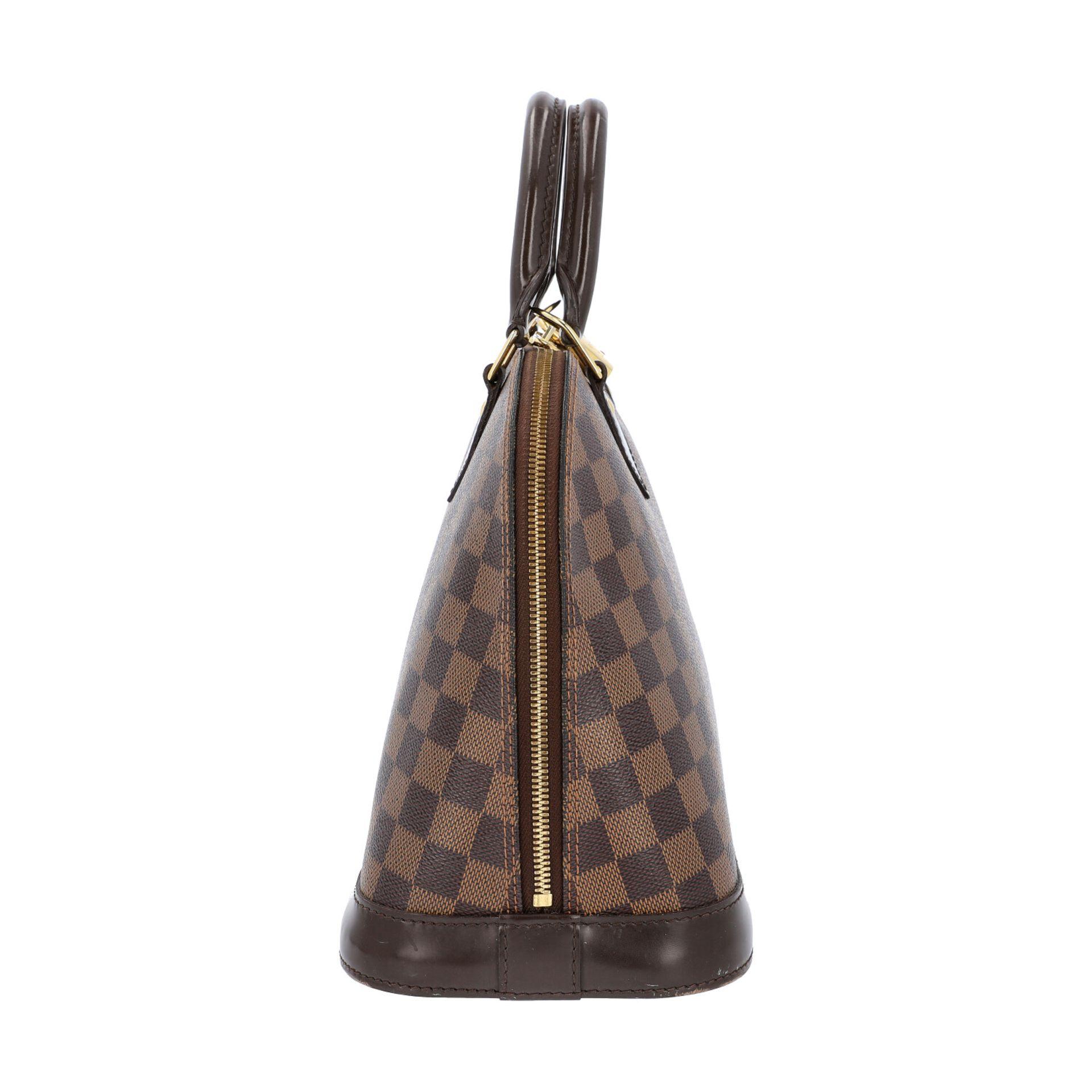 """LOUIS VUITTON Handtasche """"ALMA PM"""", Koll. 2010.Akt. NP.: 1.250,-€. Damier Ebene Serie mit - Bild 3 aus 8"""