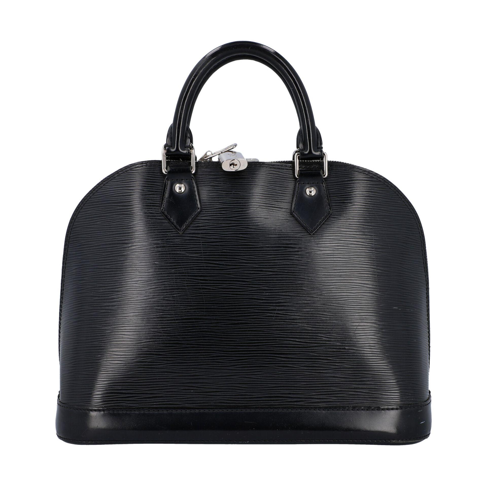 """LOUIS VUITTON Handtasche """"ALMA PM"""", Koll. 2011.Akt. NP.: 1.680,-€. Epi Leder Serie in Schwarz mit - Bild 4 aus 8"""