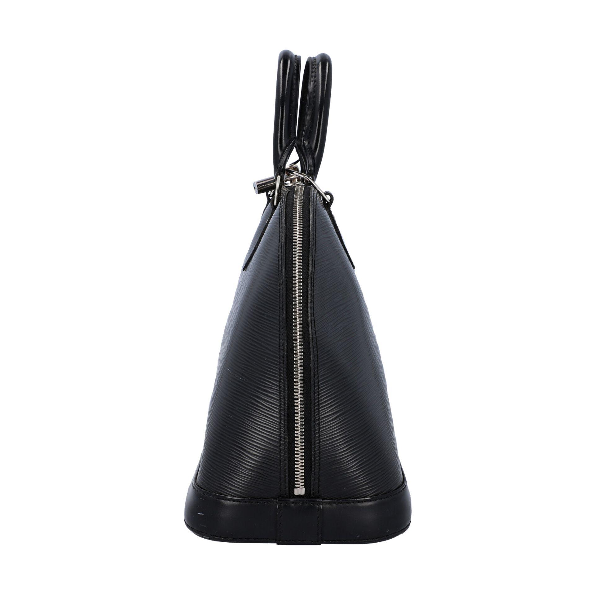 """LOUIS VUITTON Handtasche """"ALMA PM"""", Koll. 2011.Akt. NP.: 1.680,-€. Epi Leder Serie in Schwarz mit - Bild 3 aus 8"""