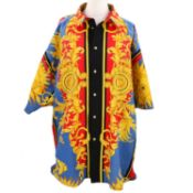 "VERSACE JEANS COUTURE VINTAGE Hemd ""MIAMI"", Gr. XL."