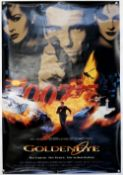 James Bond - 9 Dutch One Sheets for Goldeneye Advance and Main, all rolled (9).
