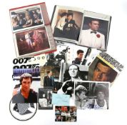 James Bond - Collection of items including autographs by Ursula Andress, Gloria Hendry, Tsai Chin,