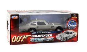 James Bond 007 - Boxed Joyride 1:18 scale Aston Martin DB5, issued in 2004, modelled on the