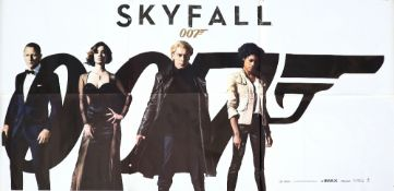 James Bond Skyfall (2012) Indian Six Sheet film poster, rolled, 53 x 108 inches. In very good
