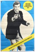 James Bond Moonraker (1979) UK Double Crown film poster, 'Roger Moore', rolled 20 x 30 inches.