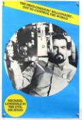 James Bond Moonraker (1979) UK Double Crown film poster, 'Sir Hugo', rolled 20 x 30 inches.