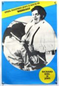 James Bond Moonraker (1979) UK Double Crown film poster, 'Jaws', rolled 20 x 30 inches.