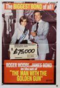 James Bond The Man With The Golden Gun - Promotional Double Crown Premium Bonds poster, folded, 20 x