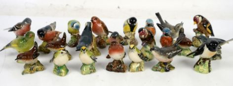 Beswick miniature birds a collection of 23 various models