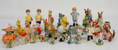 Royal Doulton Bunnykins, Winnie The Pooh and other figures,