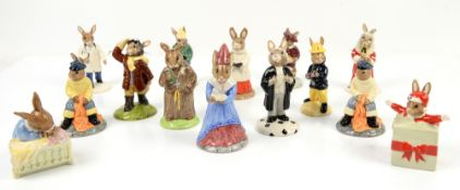 Royal Doulton Bunnykins figurines (14 in lot)