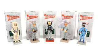 Thunderbirds - Five Robert Harrop detailed model figurines of TBF22 Scott Tracy 'City of Fire',