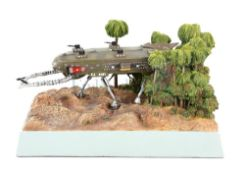Thunderbirds - Robert Harrop detailed model of TB15 Sidewinder limited edition of 200, boxed.