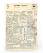 Terrahawks - World Review miniature newspaper used in the production of Terrahawks, the 1980s