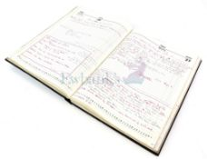 Terrahawks - A full size diary from 1983 containing an amazing detail of information on the Gerry