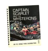 Captain Scarlet and the Mysterons (1967) Original ITC printed brochure with details on the series,