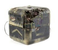 Terrahawks - Battle damaged Zelda's Cube used in the production of Terrahawks, the 1980s British