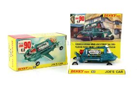 Dinky Toys model 102 Joe's Car from Gerry Anderson's Joe 90, boxed with accessories. Provenance: