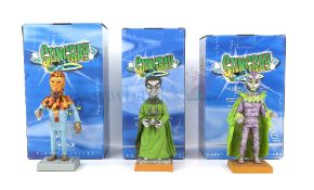 Stingray - Six Robert Harrop detailed model figurines of STF03 Titan, STF08 Agent X-2-Zero, Turata
