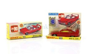 Dinky Toys model 108 Sam's Car from Gerry Anderson's Joe 90, boxed with accessories. Provenance: