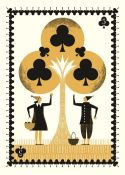 Katie Ponder (British). '5 of Clubs'. Digital print on paper, signed and dated November 2020 in
