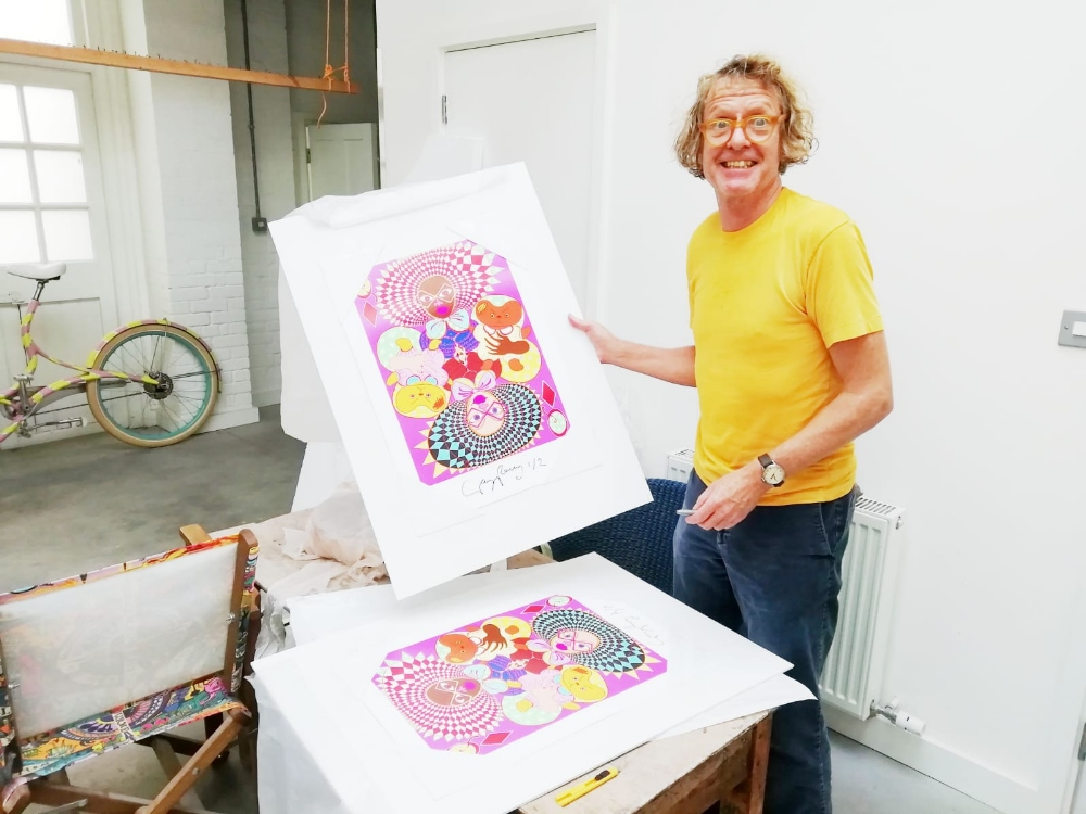 Grayson Perry CBE RA (British, b.1960). 'Queen of Diamonds', limited edition digital print on - Image 2 of 2