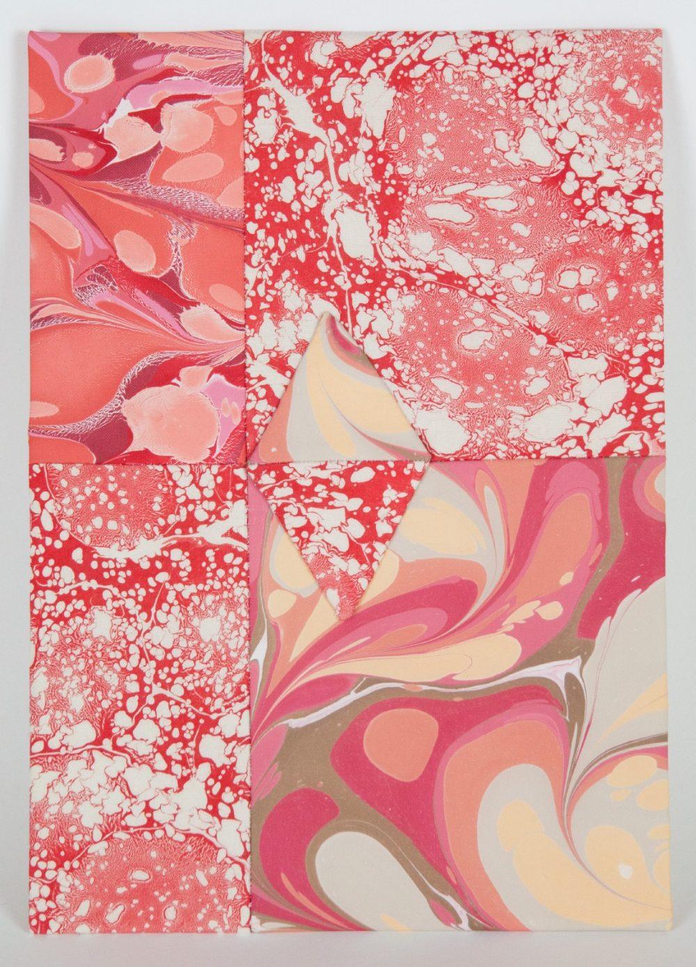 Emma D'Arcey (British). 'Ace of Diamonds', mixed media. 29.7 x 21cm. Emma's design practice