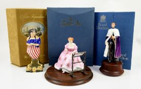 Royal Doulton limited edition 200/750 figure from the Gentle Arts Series 'Tapestry Weaving' HN3048