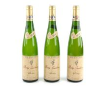 Three bottles of Rolly Gassmann Riesling, Vin D'Alsace, 2004, 750ml (3) Stored in a garage wine