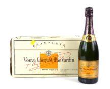 Seven bottles of Veuve Clicquot Ponsardin Vintage Reserve 1991 Champagne, 75cl (7)