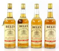 Eight bottles of Bell's Extra Special Late, 1970s Blended Scotch Whisky, 26 2/3 ounces (8)