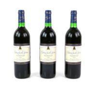 Twelve bottles of Chateau Laville Bertrou Minervois 1996 vintage red wine (12)