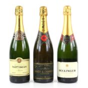 One bottle of Moet & Chandon 1988 Brut Imperial Champagne, 75cl, together with one bottle of