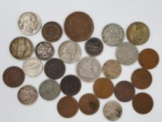 COLLECTION OF USA MIXED OLD COINAGE