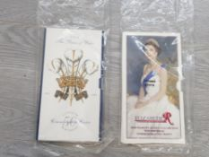 TWO UK COIN PACKS 1996 QUEEN ELIZABETH II 70TH BIRTHDAY 1998 PRINCE OF WALES 50TH BIRTHDAY