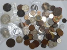 COLLECTION OF MIXED COINAGE