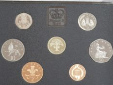 7 ROYAL MINT PROOF SET COINS DATED 1987