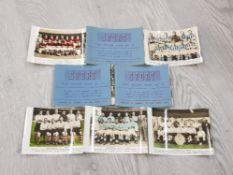 FOOTBALL 1949-50 TEAM PHOTOGRAPHS FROM SPORT PICTURE BOOK INC LIVERPOOL MAN U TOTTENHAM SUNDERLAND
