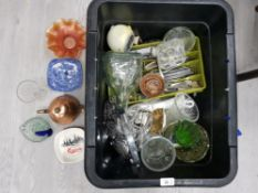 HOUSEHOLD ITEMS TO INCLUDE CUTLERY GLASS AND CERAMICS
