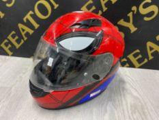 MARVEL SPIDERMEN MOTORBIKE SAFETY HELMET