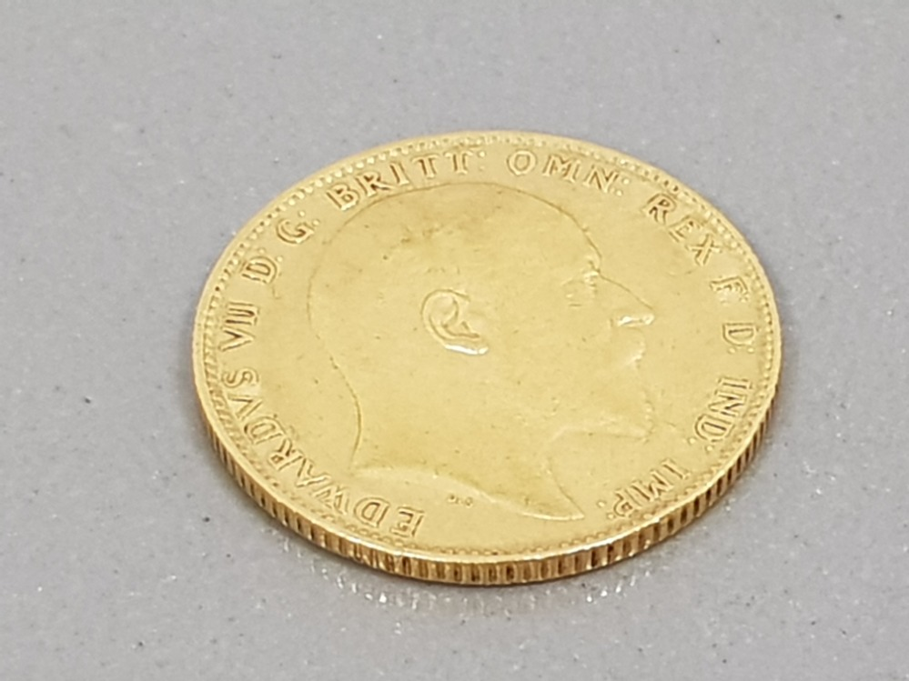 22CT GOLD 1904 FULL SOVEREIGN COIN - Image 2 of 2