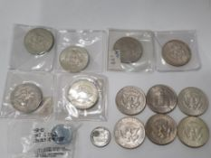 UNITED STATES OF AMERICA COIN COLLECTION OF MAINLY HALF DOLLARS - HIGH GRADES
