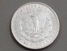 USA 1889 SILVER EAGLE 1 DOLLAR COIN IN NICE CONDITION