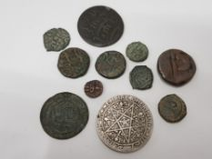 11 OLD ISLAMIC COINS MEDIEVAL TO 20TH CENTURY